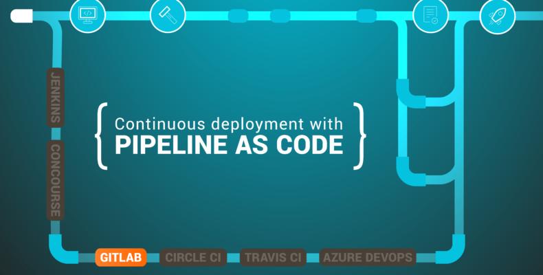 Pipeline as code GitLab
